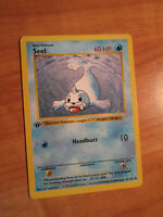 LP 1st edition Pokemon SEEL Card BASE Set 41/102 First ed Shadowless WOTC