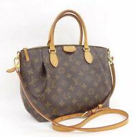 Louis Vuitton Monogram Canvas Turenne MM Hand Shoulder Bag M48814 Used
