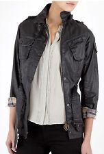 Damen Barbour International Tartan Duralinen Jacke (Polyurethan Beschichtet) US10