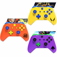 Dragon Ball EVA Goku Xbox One S X Controller Full Custom Shell Case Mod Kit