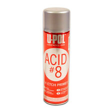 2x Upol Acid #8 1K Etch Primer 450ml Aerosol Fast Drying No Sanding needed BEST