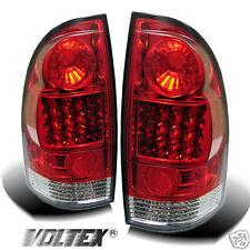 2005-2012 TOYOTA TACOMA LED TAIL LIGHT BAR LIGHTBAR LAMP RED CLEAR