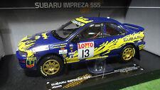 SUBARU IMPREZA 555 #13 BOURNE RALLYE AUSTRALIA 1996 au 1/18 SUNSTAR 5505 voiture