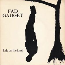 "Life On The Line 7"" (UK 1982) : Fad Gadget"