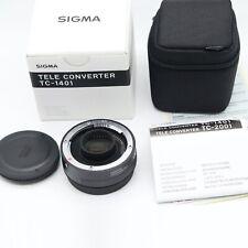 NEW Sigma TC-1401 1.4x Teleconverter Canon Digital Fit Boxed New