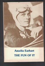 The Fun of It by Amelia Earhart SC Female Aviator Airplanes 1977