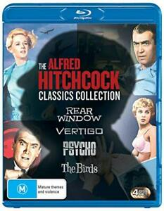 ALFRED HITCHCOCK Classics Collection (RegB) Blu-ray The Birds Psycho Rear Window