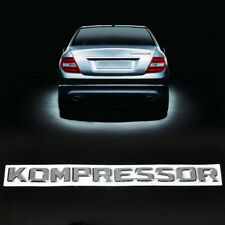 3D Letter KOMPRESSOR Logo Badge Emblem Sticker Decal for Mercedes-Benz CLK ML GL