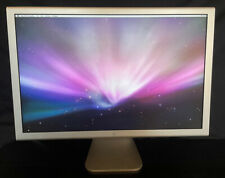 """Apple Aluminum Cinema Display 23 Inch A1082 w/Power Adapter Tested Working 23"""""""