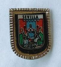 SEVILLA - Spain, Espana, coat of arms, vintage pin, badge !
