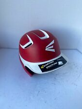 Easton Stealth Grip 2 Tone Red White Batting Helmet M/L 6 3/4 - 7 1/2 NEW