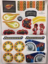 Power Wheels DTB78 Fisher Price Blaze Lil Quad Label Decal Sheet Genuine