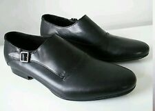 Hudson black leather shoes uk 9 eu 43