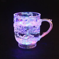 Wine Glass Luminous Cup Universal Health Led Wine Dragon Activated Light Up