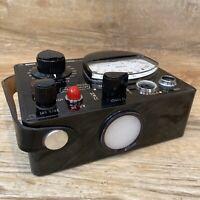 Vintage Thomas Model 1B Strobemeter In Case With Key