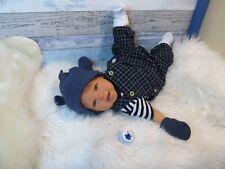ninisingen Reborn Reallife Dennis Babypuppe Rebornbaby Puppe Baby Rebornpuppe