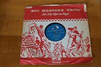 """Malcolm Vaughan My Special Angel / The Heart Of A Child HMV 78 10"""" Record 1957"""