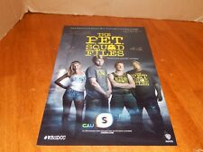 RARE 2013 SDCC Signed THE PET SQUAD FILES  Poster X4 Kelly Rohrbach-New Baywatch