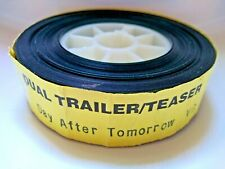 THE DAY AFTER TOMORROW 35mm FILM TRAILER - 2004 Disaster Movie Reel Cinema Cells