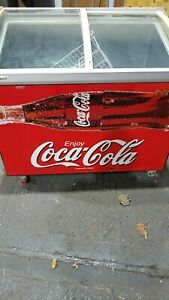 Coca cola Freezer  commercial
