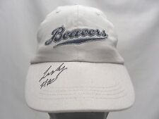 PORTLAND BEAVERS - MINOR LEAGUE - YOUTH SIZE - ADJUSTABLE BALL CAP HAT! SIGNED!