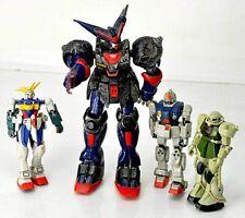 Lot of 4 Bandai Mobile Suit Gundam Action Figures