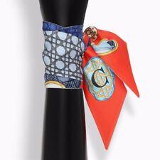 Twilly Tuch silk Scarf Schal abc C Seide Accessories für Tasche Bag NEU