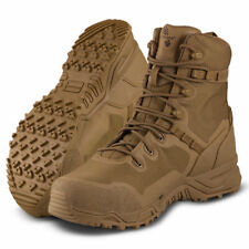 """Altama Steel Toe Boots Men's Raptor 8"""" Coyote Leather Army Military Work 322003"""