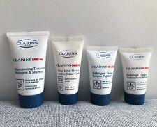 Clarins Men Shampoo & Shower, Active Hand Care, Fatigue Fighter & Face Scrub Set