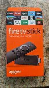 Amazon Fire TV Stick 2nd Gen Media Streamer with 2nd Gen Alexa Voice Remote - B…