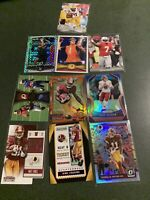Washington Redskins Rookies N Stars 10 Card Lot Of Recent Players