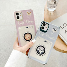 Cute Panda And Bear TPU Phone Case Cover For iPhone 11 Max X 8 7 Plus XR SE 2020