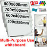 WHITEBOARD MAGNETIC SMALL LARGE WHITE BOARD DRY WIPE NOTICE OFFICE HOME SCHOOL