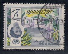 """Bermuda, SG 164w, used """"Watermark Inverted"""" variety"""