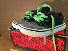 Vans Atwood Junior Uk 10 Eu 27 Green Black Grey