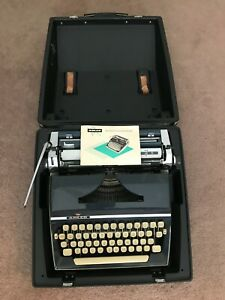 Adler J5 Vintage Typewriter with Original Case and Manual No Reserve