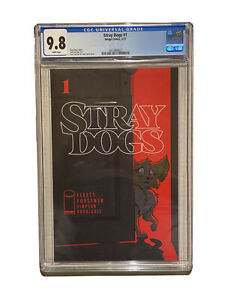 Stray Dogs CGC 9.8 Cover A 1st Print Hot Image Series Optioned