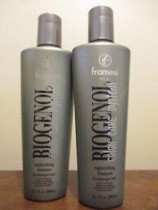 2x Framesi Biogenol Color care system Replenishing Shampoo 10 oz