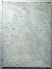 "Original 1978 MID CENTURY Painting JOHN SIMONETTA Abstract Minimalism ""Pieta"""