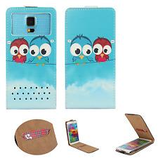 Oppo R1001 Joy - Smartphone Hülle Tasche Schutzhülle - Flip XS Eule 2