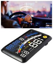 Car HUD Head-Up Gear Display OBD2 EOBD Dashboard Mounted Projector Speedometer