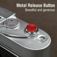 3Pcs Soft Shutter Release Button for Fujifilm T10 X10 Leica Camera