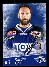 Sascha Goc Schwenninger Wildings Autogrammkartel Eishockey + A 165279