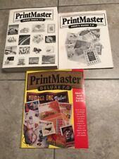 Print Master Deluxe~7.0 PC Software Pack~75,000 + Images~Windows 95 98 NT 4.0