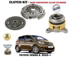 FOR TOYOTA VERSO S 1.33 1NR-FE 2010-> CLUTCH KIT WITH CONCENTRIC SLAVE CYLINDER