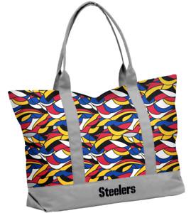 Pittsburgh Steelers Fit Ikat Tote Bag