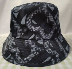Men Women Packable Burberry TB Bucket Hat Outdoor Beach Cap NWT