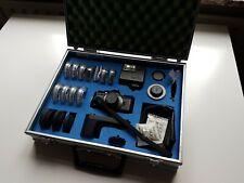 PENTAX Auto 110 Pocket SLR System & Accessories in case Koffer 3 Objektive