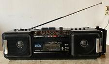 SHARP WQ-T282H Double Stereo Radio Kassetten Recorder Ghettoblaster