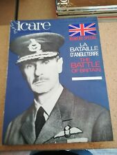 ICARE N°35/36  SPECIAL   LA BATAILLE D ANGLETERRE